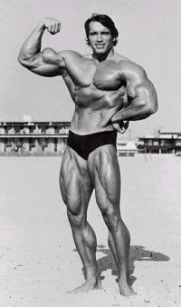 Arnold Schwarzenegger about 1975